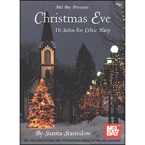MEL BAY STANESLOW SUNITA - CHRISTMAS EVE - HARP