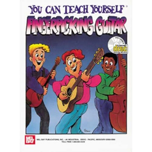 MEL BAY FLINT TOMMY - YOU CAN TEACH YOURSELF FINGERPICKING GUITAR - GUITAR