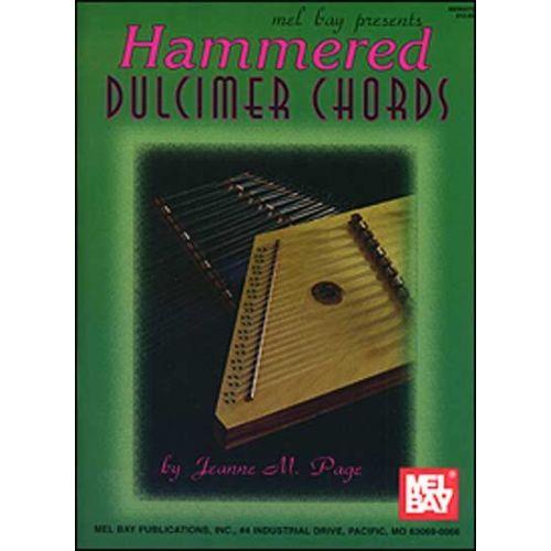 MEL BAY PAGE JEANNE - HAMMERED DULCIMER CHORDS - DULCIMER
