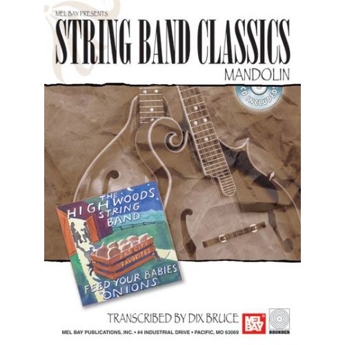 MEL BAY BRUCE DIX - STRING BAND CLASSICS - MANDOLIN + CD - MANDOLIN