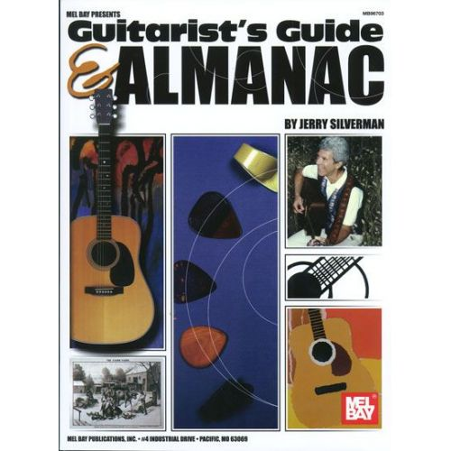 MEL BAY SILVERMAN JERRY - GUITARIST'S GUIDE AND ALMANAC - GUITAR