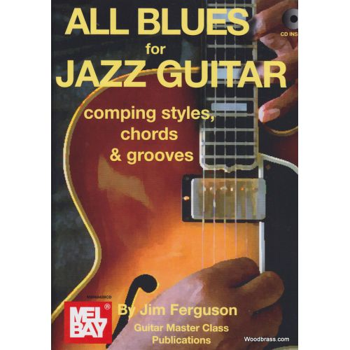 MEL BAY FERGUSON J. - ALL BLUES FOR JAZZ GUITAR + CD