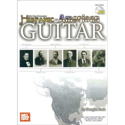 MEL BAY BACK DOUGLAS - HISPANIC-AMERICAN GUITAR + CD - GUITAR
