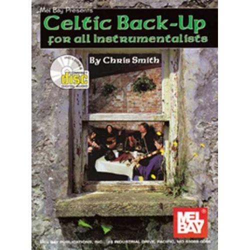 MEL BAY SMITH CHRIS - CELTIC BACK-UP + CD - GUITAR