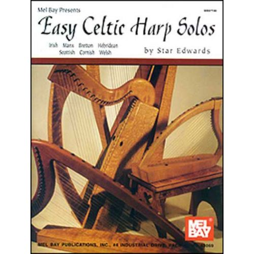 MEL BAY EDWARDS STAR - EASY CELTIC HARP SOLOS - HARP