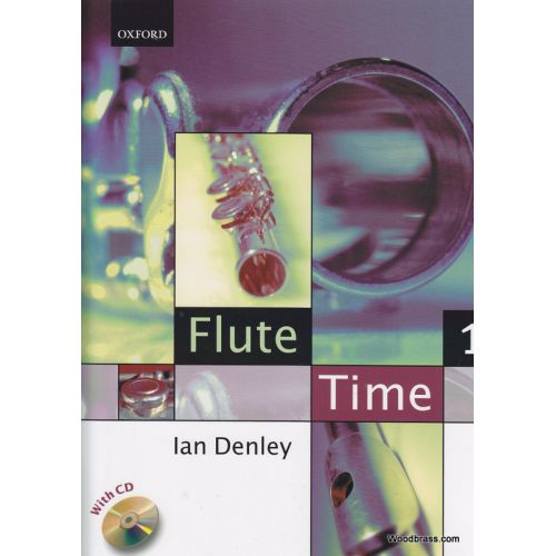 OXFORD UNIVERSITY PRESS DENLEY IAN - FLUTE TIME PIECES 1 + CD - FLUTE