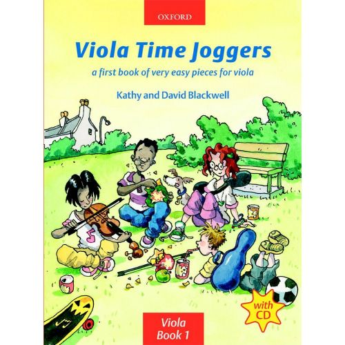 OXFORD UNIVERSITY PRESS BLACKWELL KATHY & DAVID - VIOLA TIME JOGGERS + CD - VIOLA
