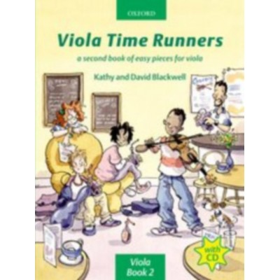 OXFORD UNIVERSITY PRESS BLACKWELL KATHY & DAVID - VIOLA TIME RUNNERS + CD - VIOLA
