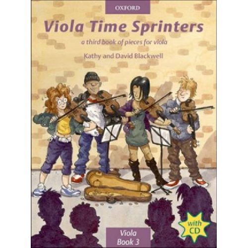 OXFORD UNIVERSITY PRESS VIOLA TIME SPRINTERS + CD