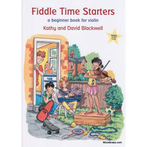 OXFORD UNIVERSITY PRESS BLACKWELL KATHY & DAVID - FIDDLE TIME STARTERS + CD - VIOLON
