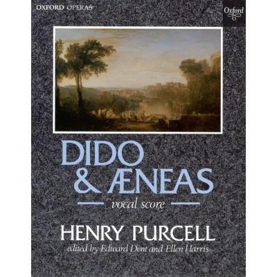 OXFORD UNIVERSITY PRESS PURCELL H. - DIDO & AENEAS - PIANO-CHANT