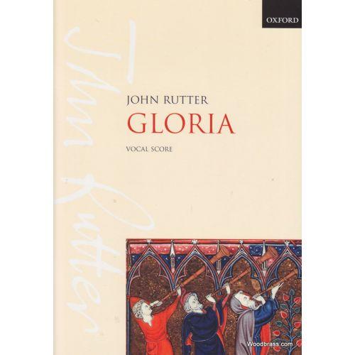 OXFORD UNIVERSITY PRESS RUTTER J. - GLORIA - CHOEUR SATB ET PIANO