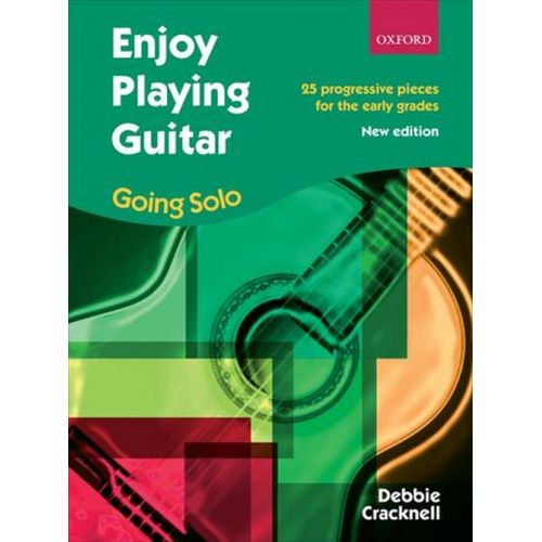 OXFORD UNIVERSITY PRESS CRACKNELL DEBBIE - ENJOY PLAYING GUITAR SOLOS