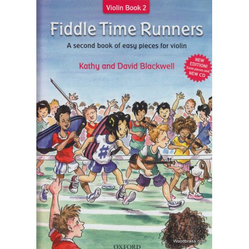 OXFORD UNIVERSITY PRESS BLACKWELL K. & D. - FIDDLE TIME RUNNERS + CD REVISED EDITION