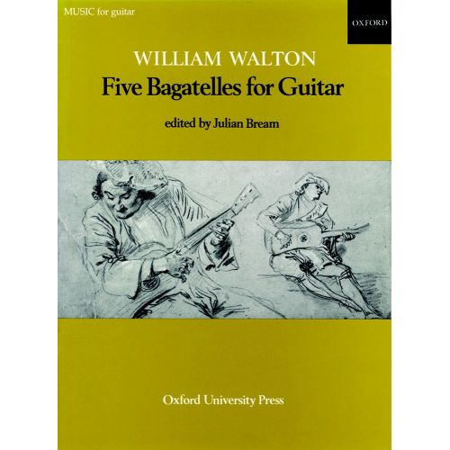 OXFORD UNIVERSITY PRESS WALTON WILLIAM - FIVE BAGATELLES FOR GUITAR