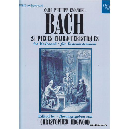 OXFORD UNIVERSITY PRESS BACH C.P..E. - 23 PIECES CARACTERISTIQUES - PIANO