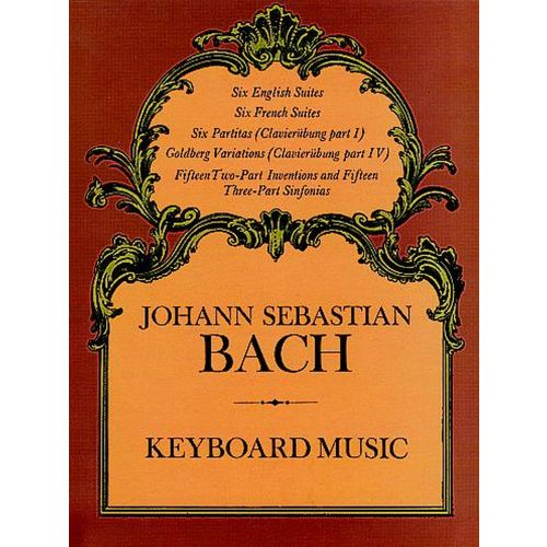 DOVER BACH J.S. - KEYBOARD MUSIC