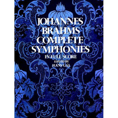 DOVER BRAHMS J. - COMPLETE SYMPHONIES - FULL SCORE