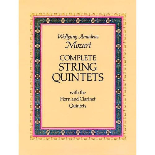 DOVER MOZART W.A. - COMPLETE STRINGS QUINTETS
