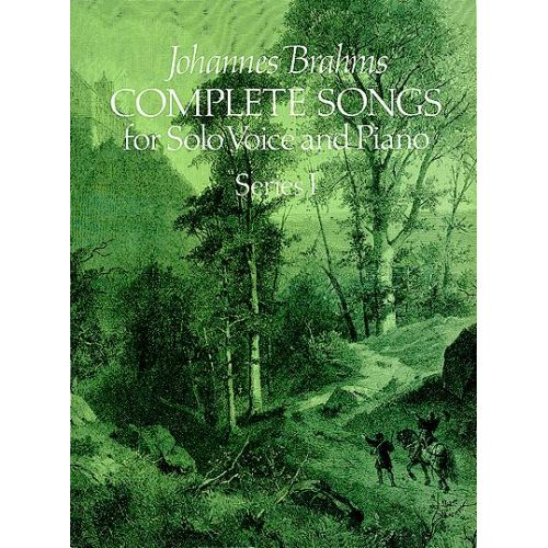 DOVER BRAHMS J. - COMPLETE SONGS VOL.1 - CHANT, PIANO