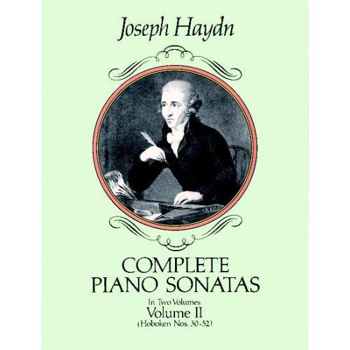 DOVER HAYDN J. - COMPLETE PIANO SONATAS VOL.2