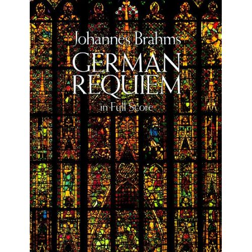 DOVER BRAHMS J. - GERMAN REQUIEM - FULL SCORE