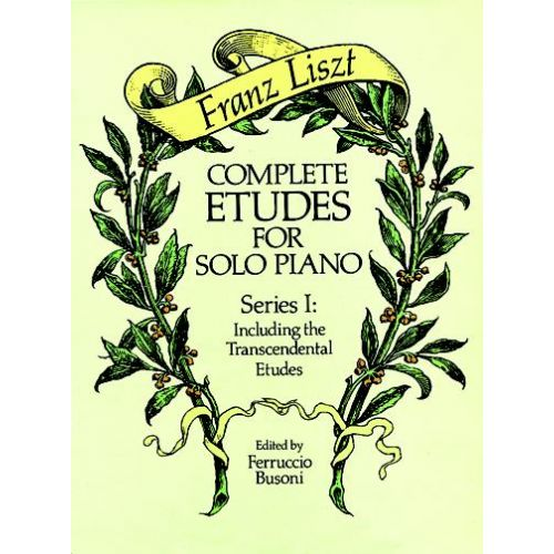 DOVER LISZT F. - COMPLETE ETUDES VOL.1 - PIANO
