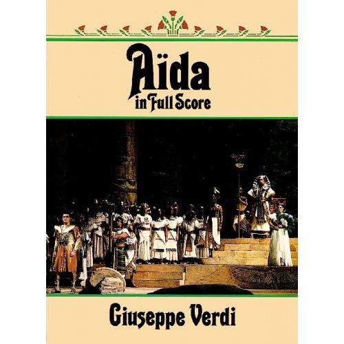 DOVER VERDI G. - AIDA - FULL SCORE