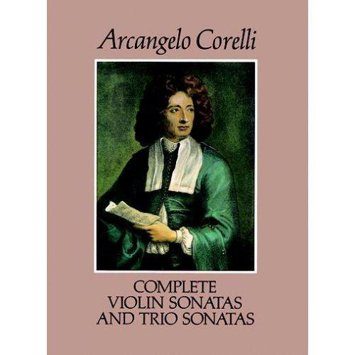 DOVER CORELLI A. - COMPLETE VIOLON & TRIO SONATAS
