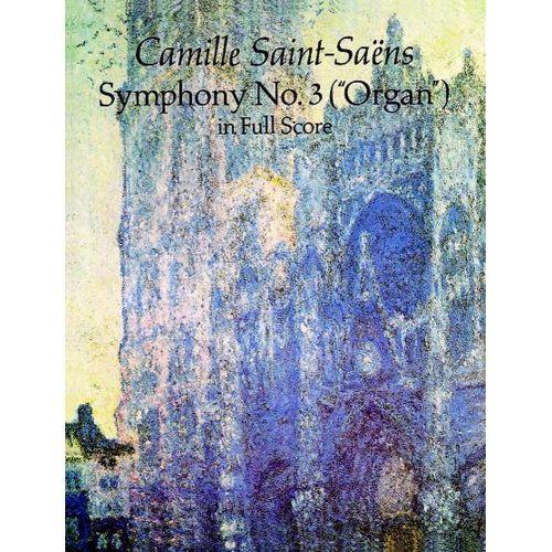 DOVER SAINT-SAENS C. - SYMPHONY N°3