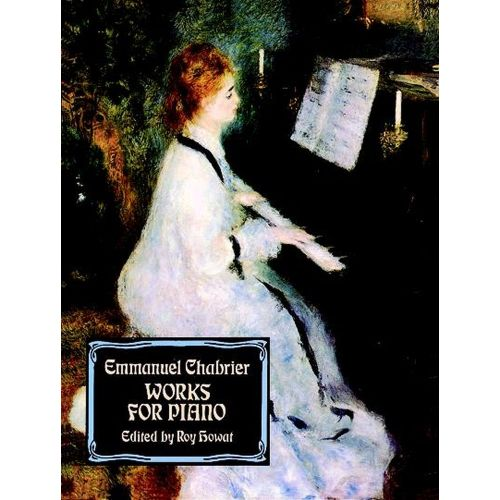 DOVER CHABRIER E. - WORKS FOR PIANO