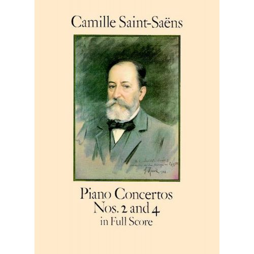DOVER SAINT-SAENS C. - PIANO CONCERTOS N°2 AND 4 - FULL SCORE