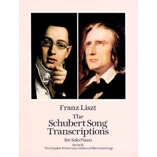 DOVER LISZT F. - SCHUBERT SONG TRANSCRIPTIONS VOL.2 - PIANO