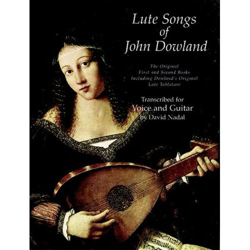 DOVER DOWLAND J. - LUTE SONG OF JOHN DOWLAND VOL.1 AND VOL.2