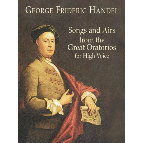 DOVER HAENDEL G.F. - SONGS & AIRS FROM GREAT ORATORIO FOR HIGH VOICE