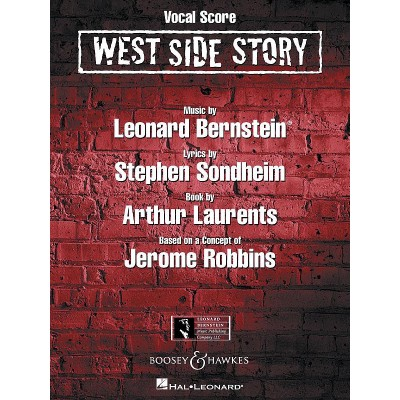 BOOSEY & HAWKES WEST SIDE STORY - COMPLETE VOCAL SCORE