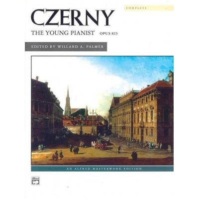 ALFRED PUBLISHING CZERNY CARL - THE YOUNG PIANIST OP.823 - PIANO