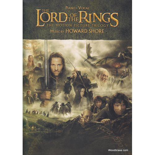 ALFRED PUBLISHING SHORE HOWARD - LORD OF THE RINGS TRILOGY - PIANO SOLO