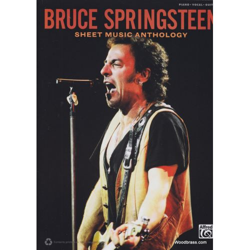 ALFRED PUBLISHING SPRINGSTEEN B. - SHEET MUSIC ANTHOLOGY - PVG