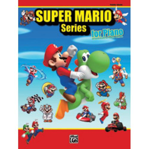 ALFRED PUBLISHING SUPER MARIO SERIES FOR PIANO