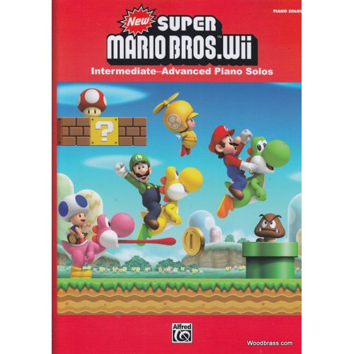 ALFRED PUBLISHING NEW SUPER MARIO BROS WII - PIANO