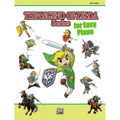ALFRED PUBLISHING THE LEGEND OF ZELDA SERIES - EASY PIANO