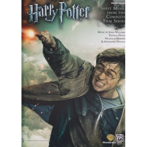 ALFRED PUBLISHING HARRY POTTER COMPLETE FILM SERIES PIANO SOLOS