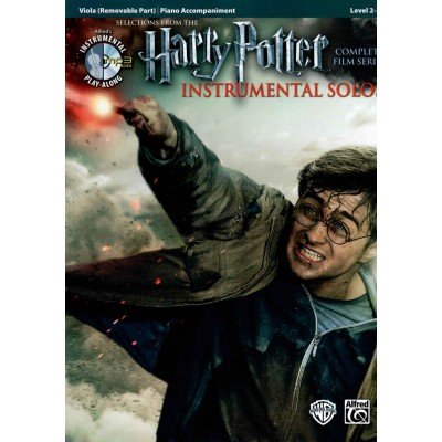 ALFRED PUBLISHING HARRY POTTER INSTRUMENTAL SOLOS FOR STRINGS - ALTO