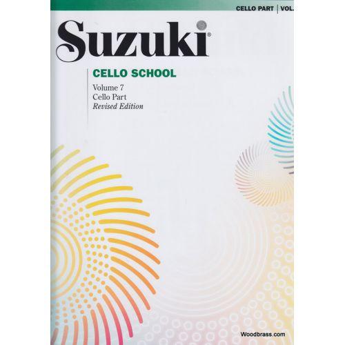 ALFRED PUBLISHING SUZUKI CELLO SCHOOL VOL. 7 - CELLO PART