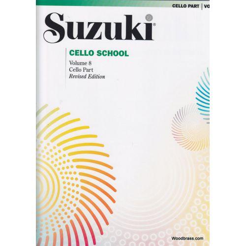 ALFRED PUBLISHING SUZUKI CELLO SCHOOL VOL. 8 - CELLO PART