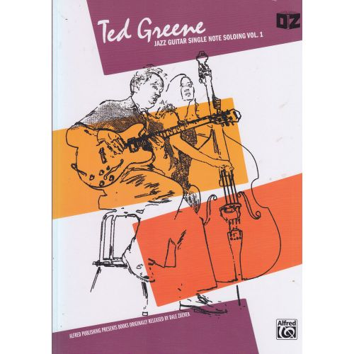 ALFRED PUBLISHING TED GREENE - JAZZ GUITAR SINGLE NOTE SOLO 1 - GUITAR