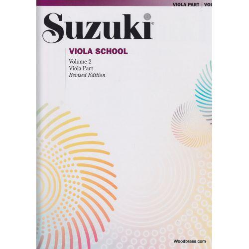 ALFRED PUBLISHING SUZUKI VIOLA SCHOOL VIOLA PART VOL.2 REV. EDITION