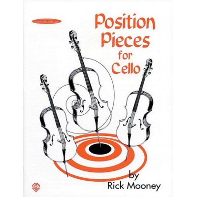 SUMMY BIRCHARDS MOONEY RICK - POSITION PIECES FOR CELLO - VIOLONCELLE