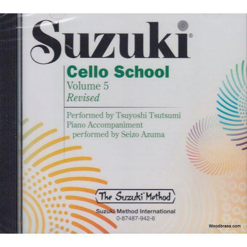 ALFRED PUBLISHING SUZUKI CELLO SCHOOL VOL. 5 CD SEUL